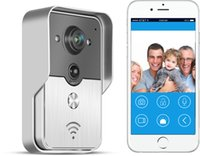 KW01 720P HD Smart Wifi Inalámbrico Video Doorbell Keyfobs Intercomunicador Desbloquear IP Video Door Phone para iOS Android AT