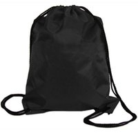 Backpack Style black cinch - PC Boys Girls Women s New Nylon Drawstring Cinch Sack Travel Backpack Bags Black