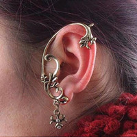 Wholesale Gold Dragon Ear Cuff - 22pcs Carved Dragon Ear Cuff Fashion Vintage Flower Earrings Unisex Jewelry