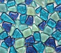 Wholesale Wholesale Decorations For Aquariums - arden decoration 200g Glitter Glass Mosaic Beads Flat Marbles Irregular Glass Mosaic Tiles for Flower Pot Vase Lantern Aquarium Garden De...