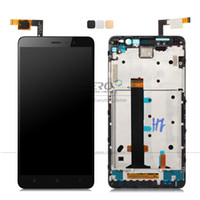 Wholesale note screen parts - Wholesale-LCD Digitizer Display with Frame for Xiaomi Redmi Note 3 Pro Prime Complete Touch Screen LCD Panel Display Replacement Parts