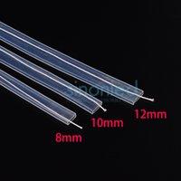 Wholesale Silicon Tube Led Strip Lighting - Wholesale-5m~20m length 8mm 10mm 12mm Silicon tube IP67 for SMD 5050 3528 3014 5630 ws2801 ws2811 ws2812b waterproof led strip light