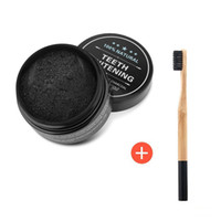 Wholesale Natural Toothbrushes - 2017 Toothbrush Natural and Organic Activated Charcoal Teeth Cleaning Tooth and Gum Powder Total teeth Whites 30g with logo