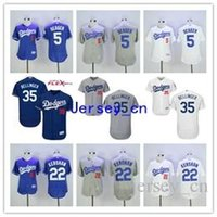 Wholesale Sales Promotion Corey Seager Jersey Kershaw Cody Bellinger Los Angeles Dodgers Baseball Jersey Flexbase White Blue Grey