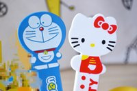 Wholesale Steel Table Spoons - Wholesale- 16CM Approx. poon , Hello Kitty , Doraemon Stainless Steel Spoon Salad & Ice Cream Spoon , Dinning Table Soup Coffee Spoon
