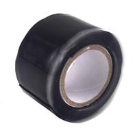 Wholesale Bond Roll - (300cm x 2.5cm) Roll Of Waterproof Silicone Repair Tapes - Black Repair Bonding Sealing Rescue Self Adhesive Fusing Wire Tools Hose Pipe