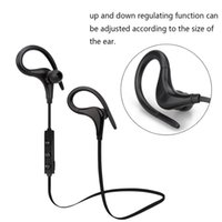 Wholesale Sports Mp3 Player Red - Bluetooth Wireless Headphones Ear Hook Fashion Sport Earphones Hifi Stereo MP3 Music Player Earbuds Headset with Microphone S9