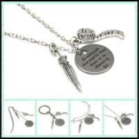 Wholesale necklaces clock - 12pcs lot Alice in Wonderland quote I'm Late! I'm Late! For a very important necklace bracelet keyring bookmark clock necklace