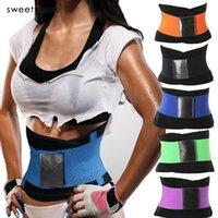 Wholesale Tummy Suit - Wholesale- Waist Trainer Corset Hot Shapers Slimming Belt Suit Women Underwear Waist Shaper Corrective Modeling Strap Tummy Girdle