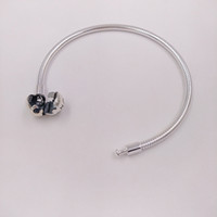 Wholesale pandora bracelets for sale - Authentic Sterling Silver Moments Smooth Silver Clasp Bracelet Fits European Pandora Style Jewelry Charms Beads