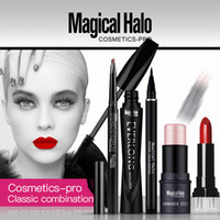 Magical Halo 5 Stück Make-up Augen Make-up Gesicht Make-up Lip Liner Kombination Mascara Augenbraue Bleistift Eyeliner Pen Shimmer Stick Lippenstift