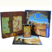 Wholesale Play Lost - Lost Cities World Adventure Playing Card Game For 2 Player Board Game Send English Instructions