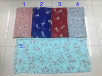 Wholesale Scarves Horse Design - New Fashion Unicorn Horse Print Scarves Women Horse Print Shawl Wrap Animal Pattern Scarf Long Hijab 2017 New Design Free Shipping