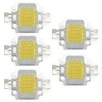 Wholesale Lampe High Power Led - Wholesale- 5 x High Power 10W LED Chip Birne Licht Lampe DIY Weiss 750LM 6500K