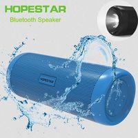Wholesale Mp3 Player Vibration - Bicycle Speakers Bike Vibration Powerful Portable Subwoofer bluetooth speaker sport outdoor flashlight Powerbank TF card FM Radio