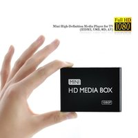 Wholesale Media Player Hd Av Output - Wholesale-2015 New Full HD 1080P Car Media Player HDMI,AV output,SD MMC Card reader USB Free shipping