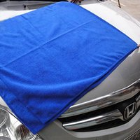 Wholesale Microfiber Towel Microfibre - Soft Microfiber Towel Car Washing Cloth for Car Polish& Wax Car Care Styling Cleaning Microfibre