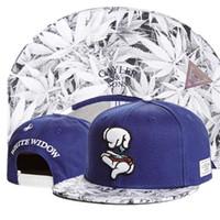 Wholesale Black Widow Women - Cayler & Sons WHITE WIDOW leaf Baseball Caps cartoon style hip hop Sports Snapback hats chapeu de sol bone masculino Men Women new 2017