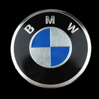 Wholesale Trunks For Motorcycles - 1pcs ROUNDEL Badge Decal Sticker motor sticker Aluminum Motorcycle For BMW EMBLEM LOGO FRONT REAR TRUNK BADGE SYMBOL