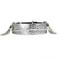 Wholesale Ladies Wide Leather Belts - Wholesale- Hot T-Stage Celebrity belts 4 Color lady cummerbunds Leather Belts For Women dress Designer Luxury Ceinture Women Wide Belts