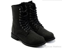 Wholesale Military C - Hot Fashion Ankle Boots Retro Combat Military Mens Boots Suede Shoes men outdoor boots free shipping