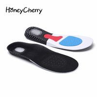 Wholesale Neutral Shoes Running - Unisex Orthotic Arch Support Sport Shoe Pad Sport Running Gel Insoles Insert Cushion for Men Women foot care
