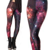 Wholesale Legging Lycra Galaxy - Galaxy Universe Stars Women Legging Woman Leggings Jeggings Legings Fitness Legging Pant Printed Leggings