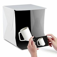 Folding Portable Mini Lightbox Fotografia Estúdio Fotográfico Sofebox, Portable Photo light tente, Table Top fotografia Studio Kit Light Box
