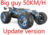 Wholesale rc scale truck - 50kmh+ 1 12 Scale Electric RC Monster Truck 2.4Ghz 4WD High Speed Remote Controlled Car RC Off Road Ready to Run