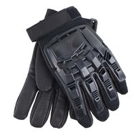 Wholesale tactical airsoft gloves resale online - Outdoor Sports Motocycle Cycling Gloves Paintball Airsoft Shooting Hunting Tactical Full Finger Gloves NO08