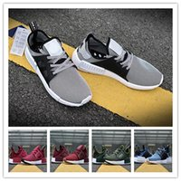 Wholesale Dark Red Table Runners - 2017 Discount Cheap Wholesale NMD Runner PK Running Shoes Men Women Boost New Primeknit Sneakers Dark Grey Free Drop Shipping