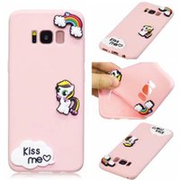 Wholesale Mobie Phones - Candy Silicone Sunflower Cactus Ice cream Fruits Soft silica gel Mobie Phone Case for iphone 7 plus 6 6S PLUS Samsung Galaxy S8