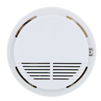 Wholesale Smoke Detector Alarms System Sensor Fire Alarm Detached Wireless Smoke Detector Home Security High Sensitivity Stable with V Battery