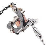 Wholesale bottle collection - Mini portable tattoo machine tattoo tools bottle opener key chain Handicraft collections easy to use free shipping