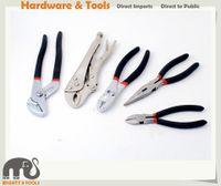 Wholesale Paint Pumps - 5pc DIY Tool Set Water Pump Plier,Locking Plier,Slip Joint Pliere,Long Nose Plier,Diagonal Cutter Plier Set