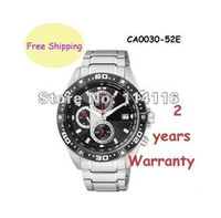 Wholesale Eco Drive Watches - NEW CA0030 ECO-DRIVE SUPER TITANIUM CHRONOGRAPH SAPPHIRE SPORTS WATCH CA0030-52E Original box