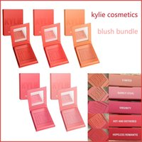 Wholesale Natural Rate - In Stock 2017 Kylie Cosmetics powder Blush 5 colors Kylie Jenner Pressed Blush X Rated BARELY LEGAL VIRGINITY HOPELESS ROMANTIC blushes