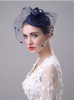 fios de fio venda por atacado-2017 Moda Tiaras de Noiva Peças de Cabeça Fios Flor Headbands Tiaras Coroas Acessórios Para o Cabelo Do Casamento Jóias Cabelo