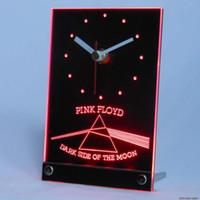Wholesale N 3d - Wholesale-tnc0146 Pink Floyd Rock n Rock Bar Table Desk 3D LED Clock