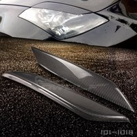 Wholesale Nissan Carbon - JDM Real Carbon Fiber Eyelids Eyebrows for Nissan 350Z Fairlady Z Z33 2003 2008