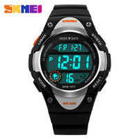 Wholesale glasses watch for children for sale - Group buy SKMEI Children Watches Cute Kids Watches Sports Cartoon Watch for Girls Boys Rubber Children s Digital LED Wristwatches Reloj