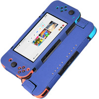 Wholesale free nintendo - High Quality Anti-slip Soft PU Leather Protective Cover Cases for Nintendo Switch 6.2 Inch 2017 Free Shipping DHL
