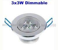 Wholesale Heat Sinks Aluminum - Recessed LED Downlight 9W Dimmable Ceiling lamp AC85-265V White Warm white LED Down Lamp Aluminum Heat Sink convenience lamp led light MYY
