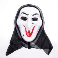 Wholesale Vampire Masks - Halloween Costume Mask Scary Vampire Witch Ghost Face Scream Mask Skull Skeleton Halloween Christmas Party Horror Masks for Men Gift