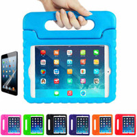 Wholesale ipad air waterproof case - Multifunction Kids Safe Soft EVA Light Foam Weight Shock Proof Handle Protective Case With Stand For iPad Ipad Air ipad Mini