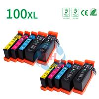 Wholesale Lexmark Wholesale Ink Cartridges - ZH 10 PCS Ink Cartridges LM100XL Compatible for Lexmark LM100 LM105 LM108 XL 100 105 108 Printer