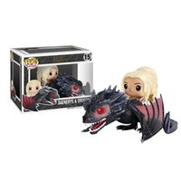 Wholesale Funko POP Game of Thrones Figures Dragon Daenerys Rides Dragon Figurine With Box