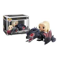 Wholesale Dragons Figurines - Funko POP Game of Thrones Figures Dragon & Daenerys Rides Dragon Figurine With Box