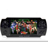 Wholesale Nes Lcd - MP4 MP5 X6 Handheld Game Player 8GB 4.3 Inch LCD Screen Video Camera Portable Game Console For GBA NES Games