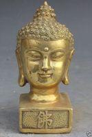 Wholesale Chinese Seal Carving - Elaborate Chinese Tibet Brass Amitabha Buddha Sakyamuni Seal Statue